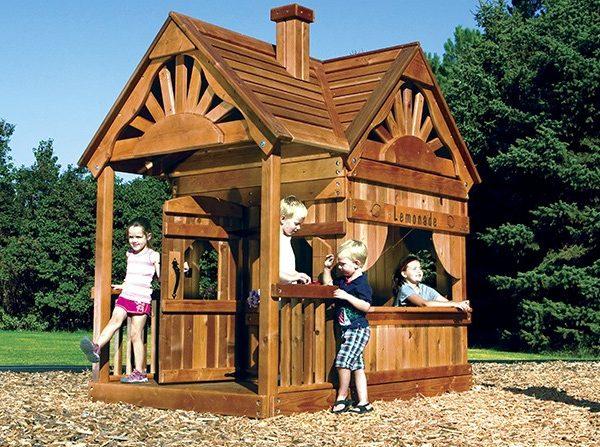 medinis namelis vaikams