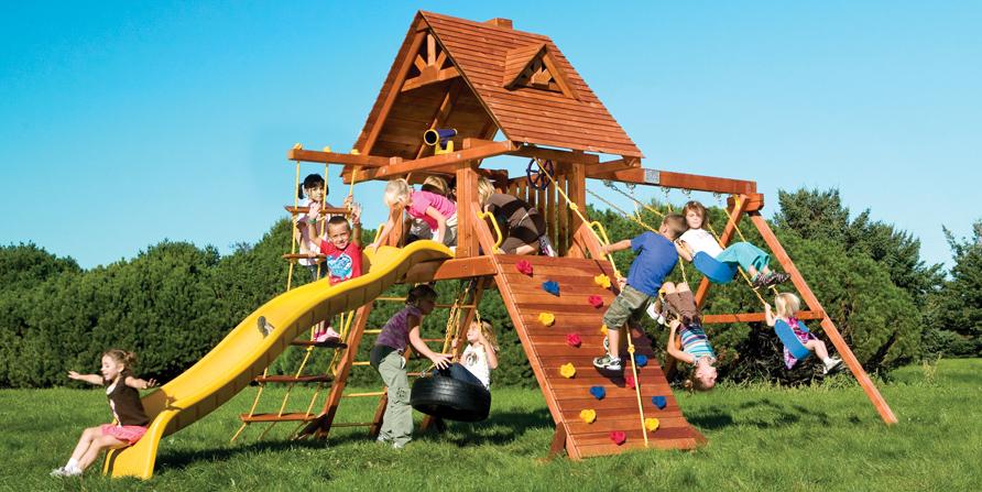 Vaikų žaidimo aikštelės įrengimai